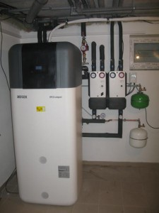 HPSU Compact 516 pro podlahové vyápění a radiátory