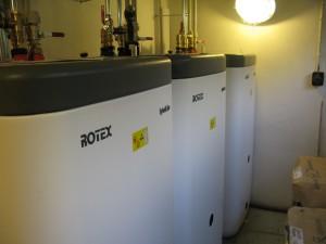 Zasobníky teplé vody Hybridcube